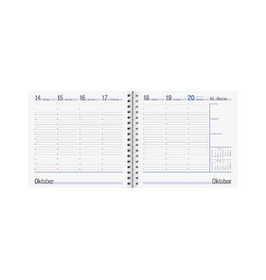 Ersatzkalender 790 1Woche/2Seite 16,5x16cm 2021