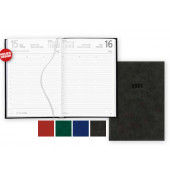 Buchkalender 876 1Tag/1Seite schwarz 15x21cm 2021