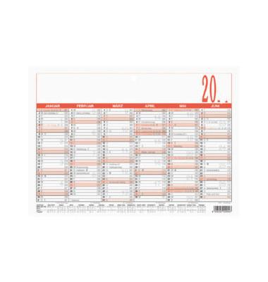 Plakatkalender 904 6Monate/1Seite A5-quer 2022