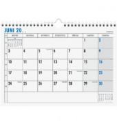 Monatsterminkalender 989 1Monat/1Seite 290x210m 2017