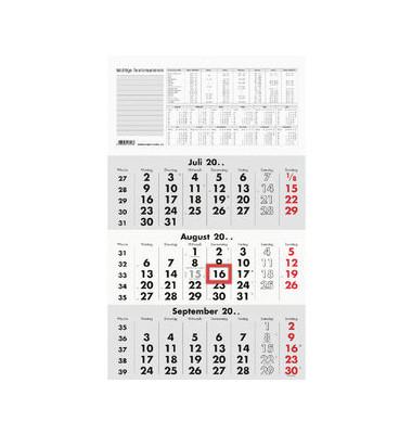 Dreimonatskalender 956 3Monate/1Seite 295x490mm 2022