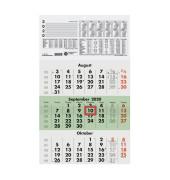 Dreimonatskalender 956 3Monate/1Seite 295x490mm 2021 Recycling