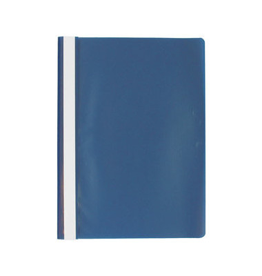 Schnellhefter E0055 A4 blau PP Kunststoff Schlauchheftung