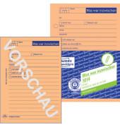 Gesprächsnotiz 1014 A6 50 Blatt