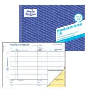 Materialanforderung 1110 A5 2x50 Blatt