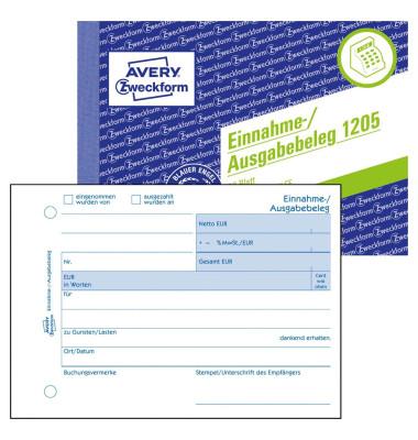 Einnahme-Ausgabebeleg A6 50 Blatt