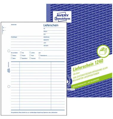 Formular Lieferschein RC A5 110 Bl.