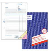 Auftragsbuch A5 selbstdurchschreibend 3x40 Blatt