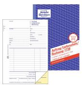 Auftrag/Lieferschein/Rechnung 1739 A5 selbstdurchschreibend 2x40 Blatt