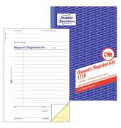 Rapport / Regiebericht 1770 A5 selbstdurchschreibend 2x40 Blatt