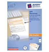 EU Standard Überweisung 2817 A4 quer mit Software 100 Blatt
