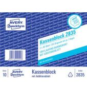 Kassenblock 2835 A6 2x50 Blatt