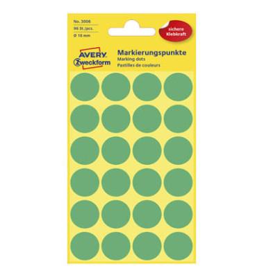 Markierungspunkte 3006 grün Ø 18mm 96 Stück