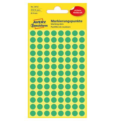 Markierungspunkte 3012 grün Ø 8mm 416 Stück