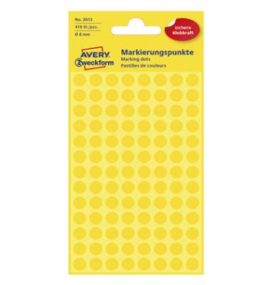 Markierungspunkte 3013 gelb Ø 8mm 416 Stück