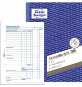 Kassenbericht 305 A5 50 Blatt