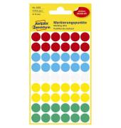 Markierungspunkte 3088 farbig sortiert Ø 12mm 270 Stück