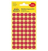 Markierungspunkte 3141 rot Ø 12mm 270 Stück
