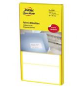 3344 Adress Etiketten 89 x 36 mm weiß 320 Stück