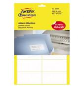 3350 Adress Etiketten 95 x 47 mm weiß 240 Stück