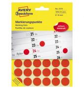 Markierungspunkte rund Ø 18mm rot 3374