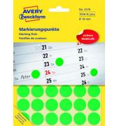 Markierungspunkte rund Ø 18mm grün 3376