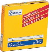 Korrekturband 1-zlg. weiß 4,2mm x 15m