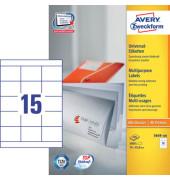 Etiketten 3669-200 70 x 50,8 mm weiß 3000 Stück