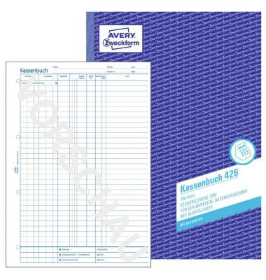 Kassenbuch 426 EDV A4 Laserdrucker 100 Blatt