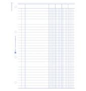 4-Kolonnen-Durchschreibbuch 452 A4 2x50 Blatt