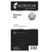 Ersatzeinlage Adressen-Blätter Midi 16 Blatt