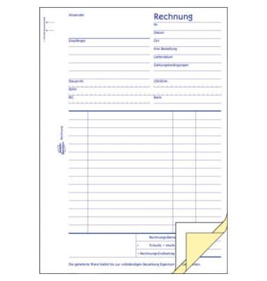 Rechnung A5 3x50 Blatt