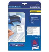 C32010-10 Visitenkarten weiß 85 x 54 mm 185g 100 Stück