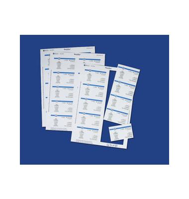 C32011-500 Visitenkarten weiß 85 x 54 mm 200g 5000 Stück Pre-Print