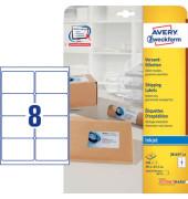 J8165-25 Versand Etiketten 99,1 x 67,7 mm weiß 200 Stück INTERNETMARKE
