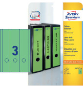 Ordneretiketten L4754-20 61 x 297 mm grün zum aufkleben 60 Stück