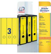 Ordnerrücken L4755-20 61 x 297 mm gelb 60 Stück zum aufkleben