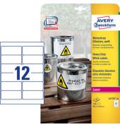 Etiketten L4776-20 99,1 x 42,3 mm weiß PE Folie 240 Stück