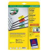 Etiketten GELB L4793-20 38,1 x 21,2 mm 1300 Stück Mini Etiketten Stick&Lift