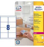 L716540 Versand Etiketten 99,1 x 67,7 mm weiß 320 Stück blickdicht