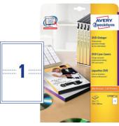 CD DVD Einleger matt 200g/qm weiß 273 x 183mm L743625
