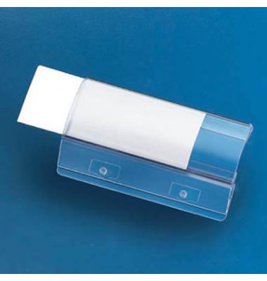 Vollsichtreiter 58mm 4-zeilig transparent 50 Stück