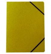 Eckspanner A4 370g Karton gelb
