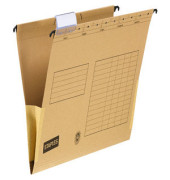 Hängetasche A4 230g Recyclingkarton natron 25 Stück 1116229PG