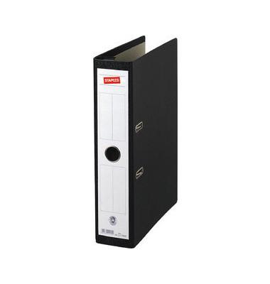 Hängeordner A4 schwarz 70 mm mit Griffloch CLA1117 Recycling
