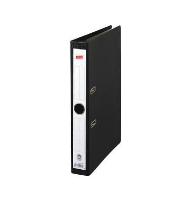 Hängeordner A4 schwarz 50 mm mit Griffloch CLA1127 Recycling