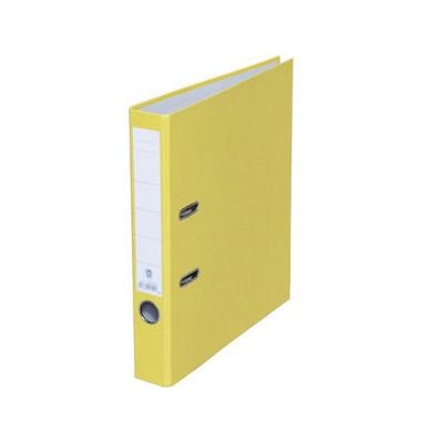Ordner A4 gelb 50mm schmal
