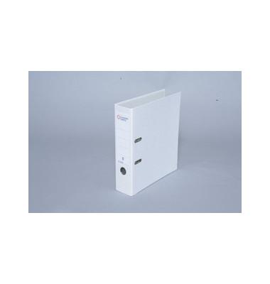 Color weiß Ordner A4 80mm breit
