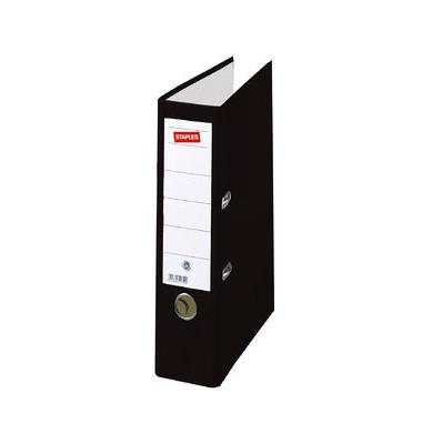 Color schwarz Ordner A4 80mm breit