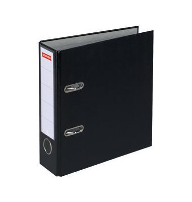 Ordner A4 schwarz 80mm breit